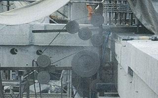 ダイヤモンド工法 切断機/油圧ユニット/ダイヤモンドワイヤー ワイヤーソーによる撤去
