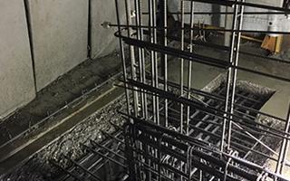 超高圧水ウォータージェット コンクリートはつり