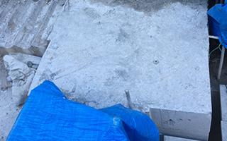 超高圧水ウォータージェット コンクリートはつり コンクリート構造物の柱