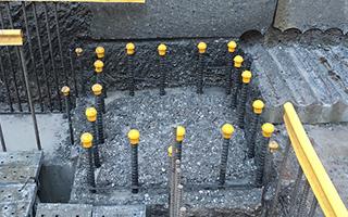 ウォータージェット コンクリートはつり コンクリート構造物の柱